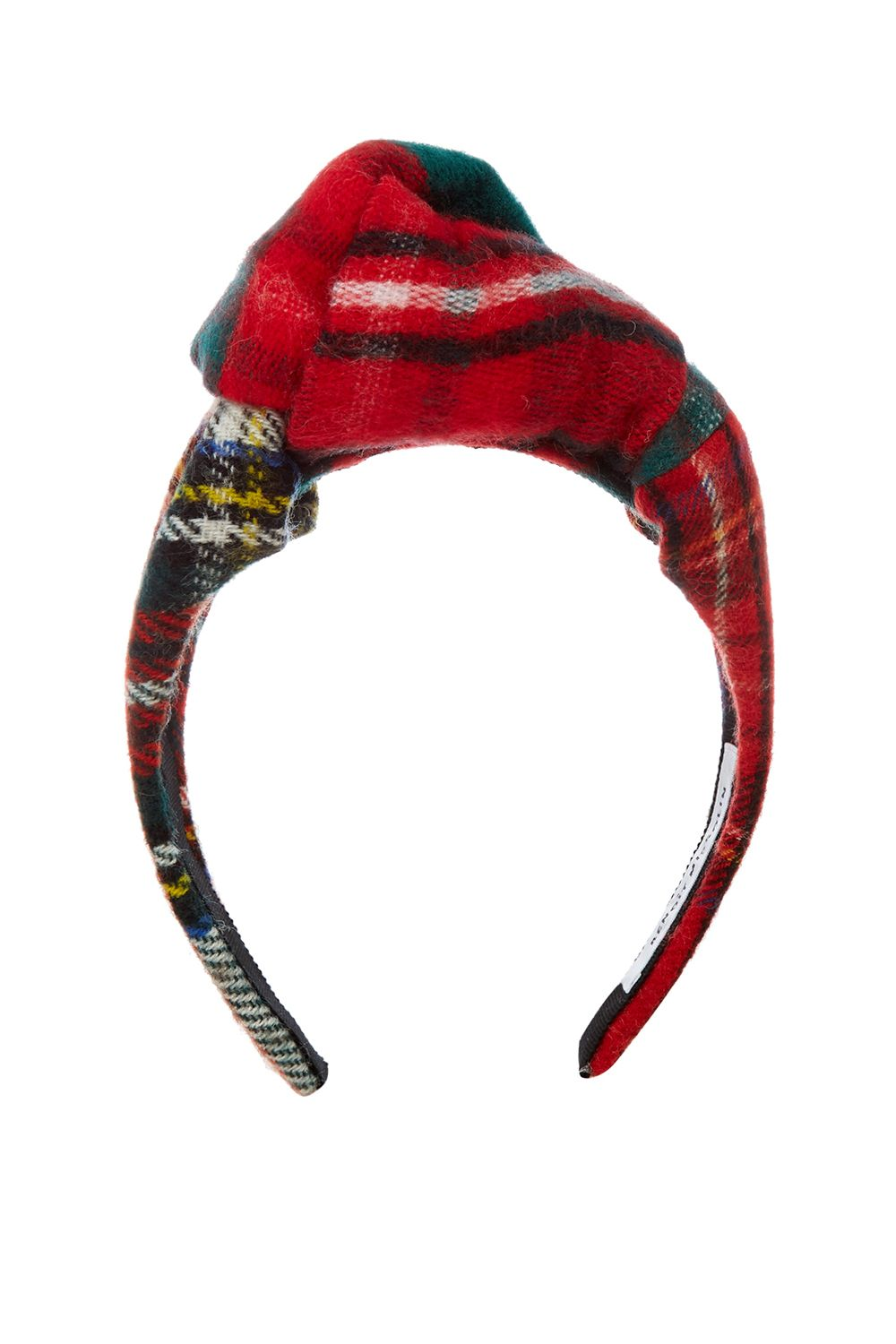 "<p>Prada studies abroad in the U.K. </p><p>$84, <a href=""http://www.matchesfashion.com/products/Beno%C3%AEt-Missolin-Diana-tartan-wool-headband--1068329"" target=""_blank"" data-tracking-id=""recirc-text-link"">matchesfashion.com</a>.</p>"