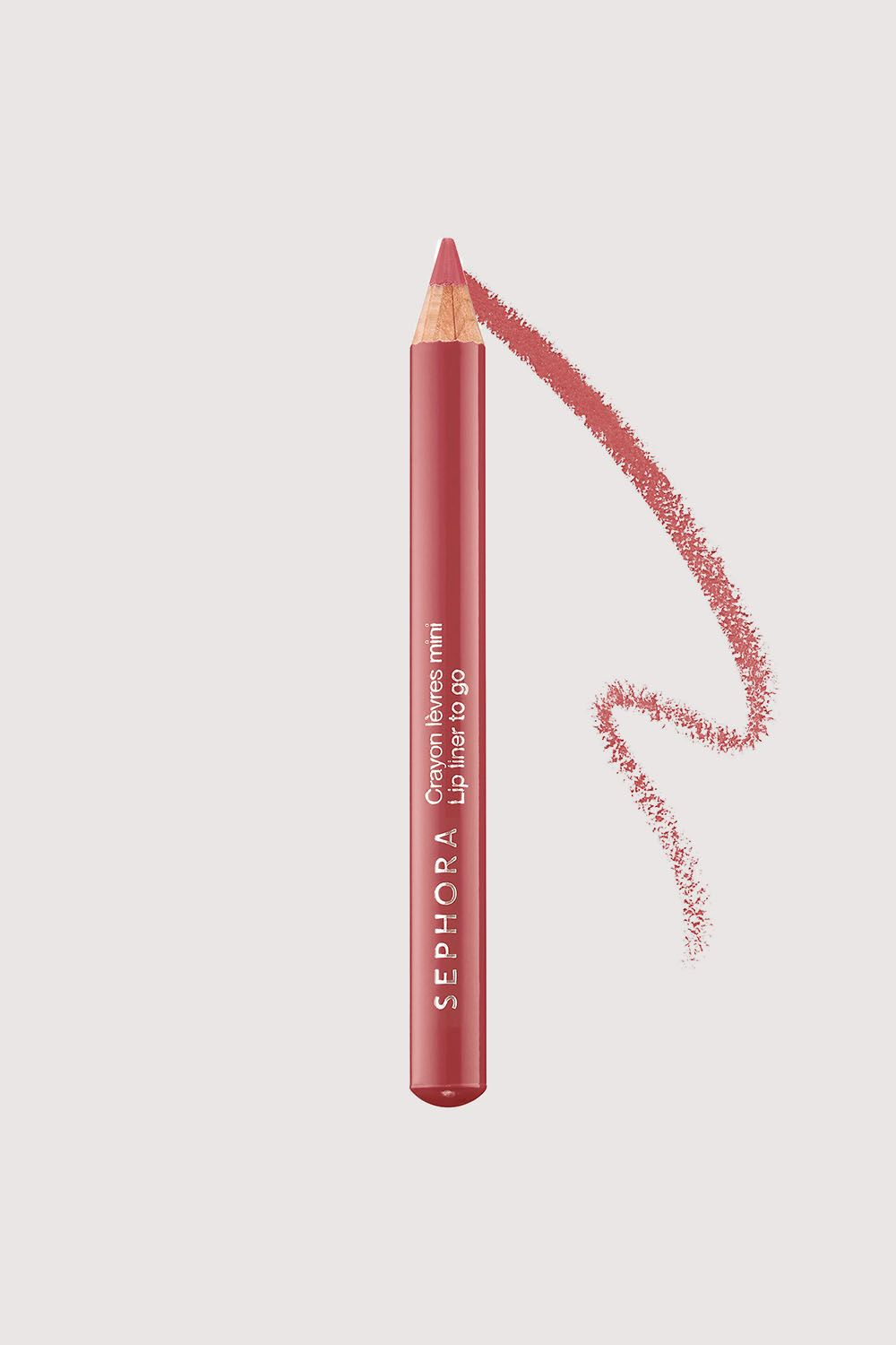"<p>Whether you're tracing your lips or filling them in entirely, this mini semi-matte formula is creamy, highly-pigmented, and won't dry out your pout.</p><p>Sephora Collection Lip Liner to Go, $6; <a href=""http://bit.ly/2mk0ZLe"" target=""_blank"" data-tracking-id=""recirc-text-link"">sephora.com</a>.</p>"