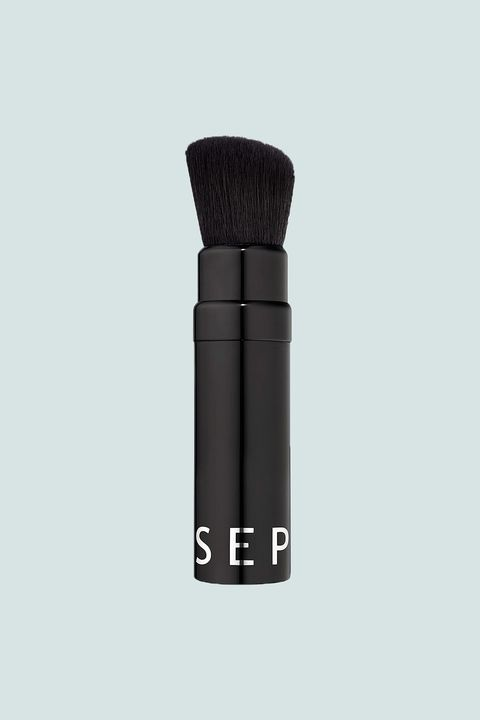 "<p>If you insist on having a brush with you at all times, retractable is the only way to go. The angled head on this brush can serve a variety of purposes from swiping on blush to contouring/strobing.</p><p>Sephora Collection Color At Every Turn Retractable Brush, $22; <a href=""http://bit.ly/2mjPjIA"" target=""_blank"" data-tracking-id=""recirc-text-link"">sephora.com</a>.</p>"