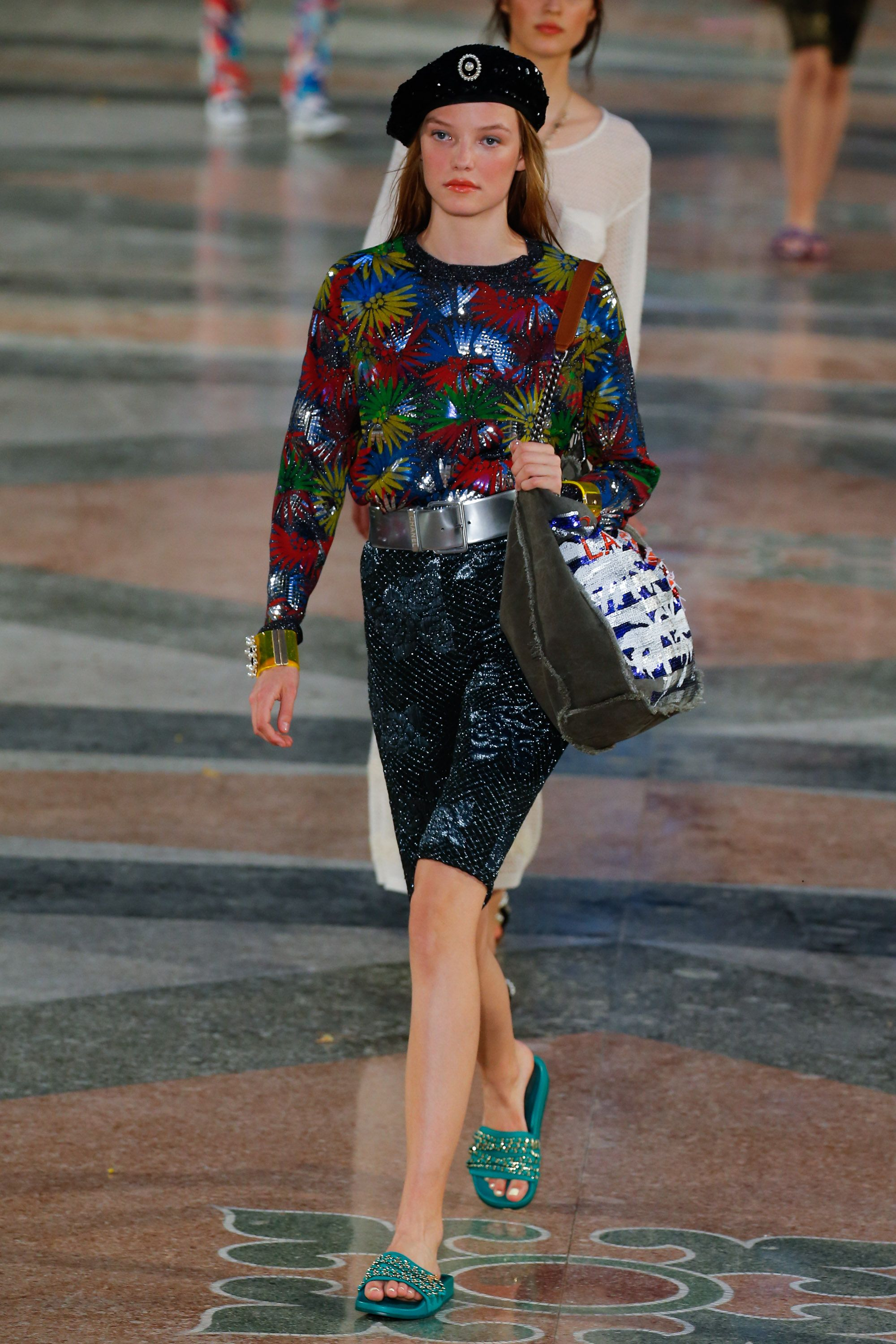 "<p>At its historic Cuba show, Chanel presented embellished Lycra-ish shorts for the ultimate ""I'm on holiday, I don't need real pants"" ensemble. Feels kind of '80s aerobics class, kind of unfinished, which is not a vibe I would be mad at. </p>"