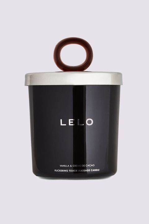 "<p>Lelo's <a href=""http://www.marieclaire.com/sex-love/g1464/best-sex-toys/?slide=4&amp;thumbnails="" target=""_blank"" data-tracking-id=""recirc-text-link"">sex toys</a> always look like verifiable product porn, so it makes sense that their flickering massage candle would look just as chic on the night stand.&nbsp;And they put just as much thought into the ingredients: their candles are all-natural and come in three calming&nbsp;scents: vanilla, snow pea, and a combo of black pepper and pomegranate.&nbsp;</p><p>$35;&nbsp;<a href=""https://www.lelo.com/flickering-touch-massage-candle"" target=""_blank"" data-tracking-id=""recirc-text-link"">lelo.com</a>.<span class=""redactor-invisible-space"" data-verified=""redactor"" data-redactor-tag=""span"" data-redactor-class=""redactor-invisible-space""></span><br></p>"