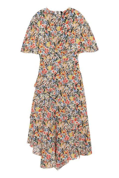 Clothing, Day dress, Dress, Sleeve, Orange, Pattern, Pattern, Neck, Blouse, Top,