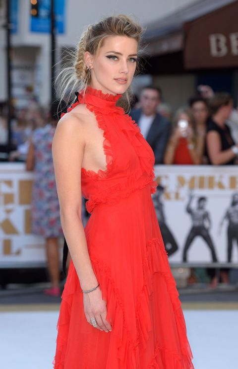 Fashion model, Clothing, Dress, Shoulder, Red, Premiere, Fashion, Carpet, Red carpet, Hairstyle,
