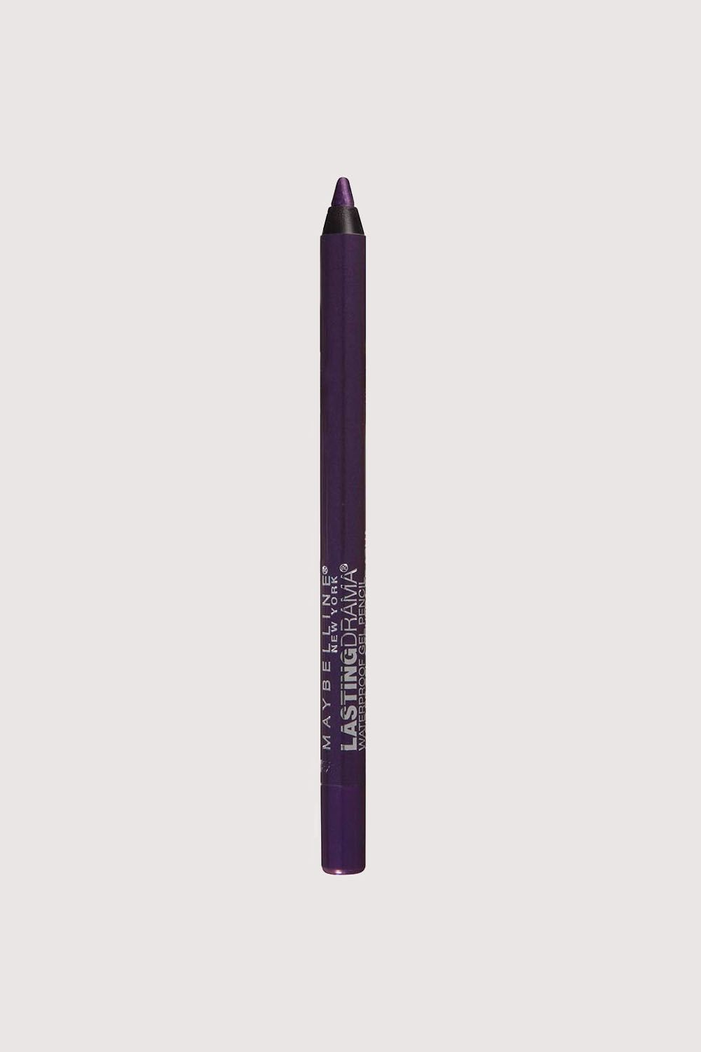 "<p>Eggplant purple is universally flattering—especially if you fall into the brown, green, or hazel eye color range—and you can elevate your look in seconds by <a href=""http://www.marieclaire.com/beauty/news/a18851/tightlining-tips/"" target=""_blank"" data-tracking-id=""recirc-text-link"">tightlining</a> with this silky formula.</p><p><strong data-redactor-tag=""strong"" data-verified=""redactor"">Maybelline Eyestudio Lasting Drama Waterproof Eye Pencil in Polished Amethyst, $7.99&#x3B;&nbsp&#x3B;<a href=""http://bit.ly/2nHHIYc"" target=""_blank"" data-tracking-id=""recirc-text-link"">target.com</a>.</strong></p>"