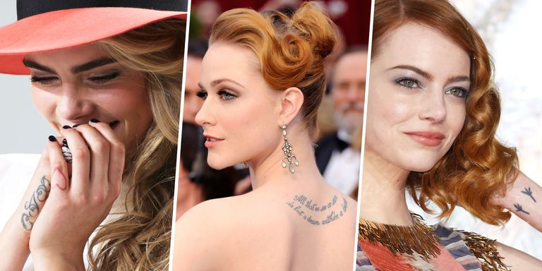 40 Best Celebrity Tattoos And Each Tattoo's Meaning ...