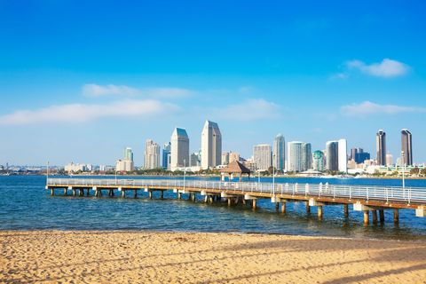 <p>If you avoid the spring break crowds, San Diego is one of the best cities to visit in the spring. Why? The beaches are beautiful (sunnier than they will be in the summer), and the attractions, restaurants, and more start to operate on summer hours—meaning they're open longer.</p>