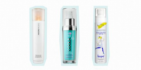 6 SPF Sprays That Won't Ruin Your Makeup