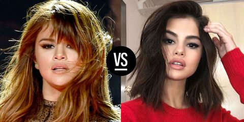 Celebrities With Short And Long Hair Photos