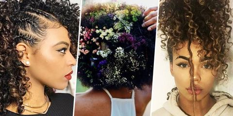 9 Best Natural Hairstyles Of 2017 How To Style Natural Curly Hair