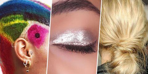 Cheek, Brown, Hairstyle, Skin, Forehead, Eyelash, Eyebrow, Colorfulness, Style, Beauty,