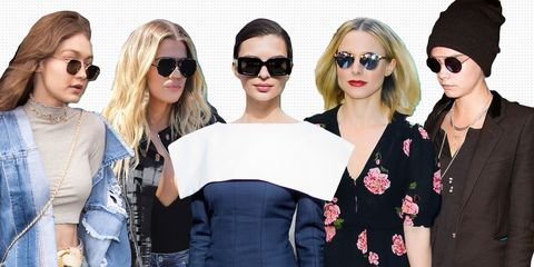 c2701c9d913 12 Best Sunglasses of 2017 Your Favorite Celebrities Are Wearing ...