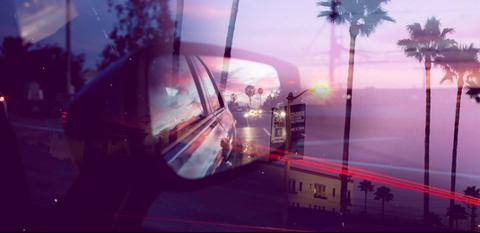 Mode of transport, Automotive mirror, Glass, Automotive lighting, Arecales, Windshield, Magenta, Rear-view mirror, Automotive window part, Automotive side-view mirror,