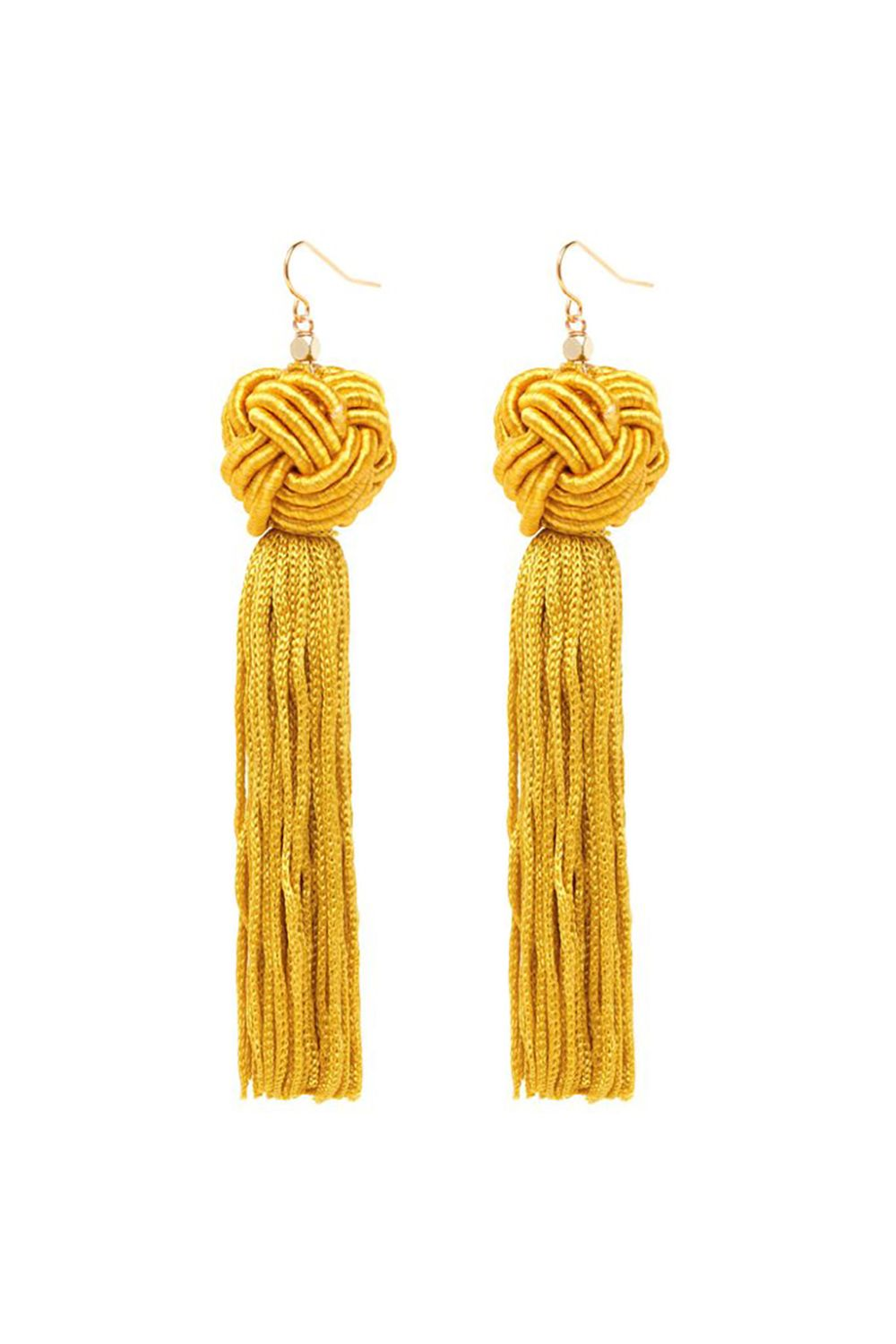 "<p>Get ready to shake what your mama gave ya! And these earrings of course. </p><p><strong data-redactor-tag=""strong"" data-verified=""redactor"">Astrid Gold Knotted Tassel Earrings, $45; <a href=""https://vanessamooney.com/products/the-astrid-gold-knotted-tassel-earrings?variant=30609760652"" data-tracking-id=""recirc-text-link"">vanessamooney.com</a>.</strong></p>"