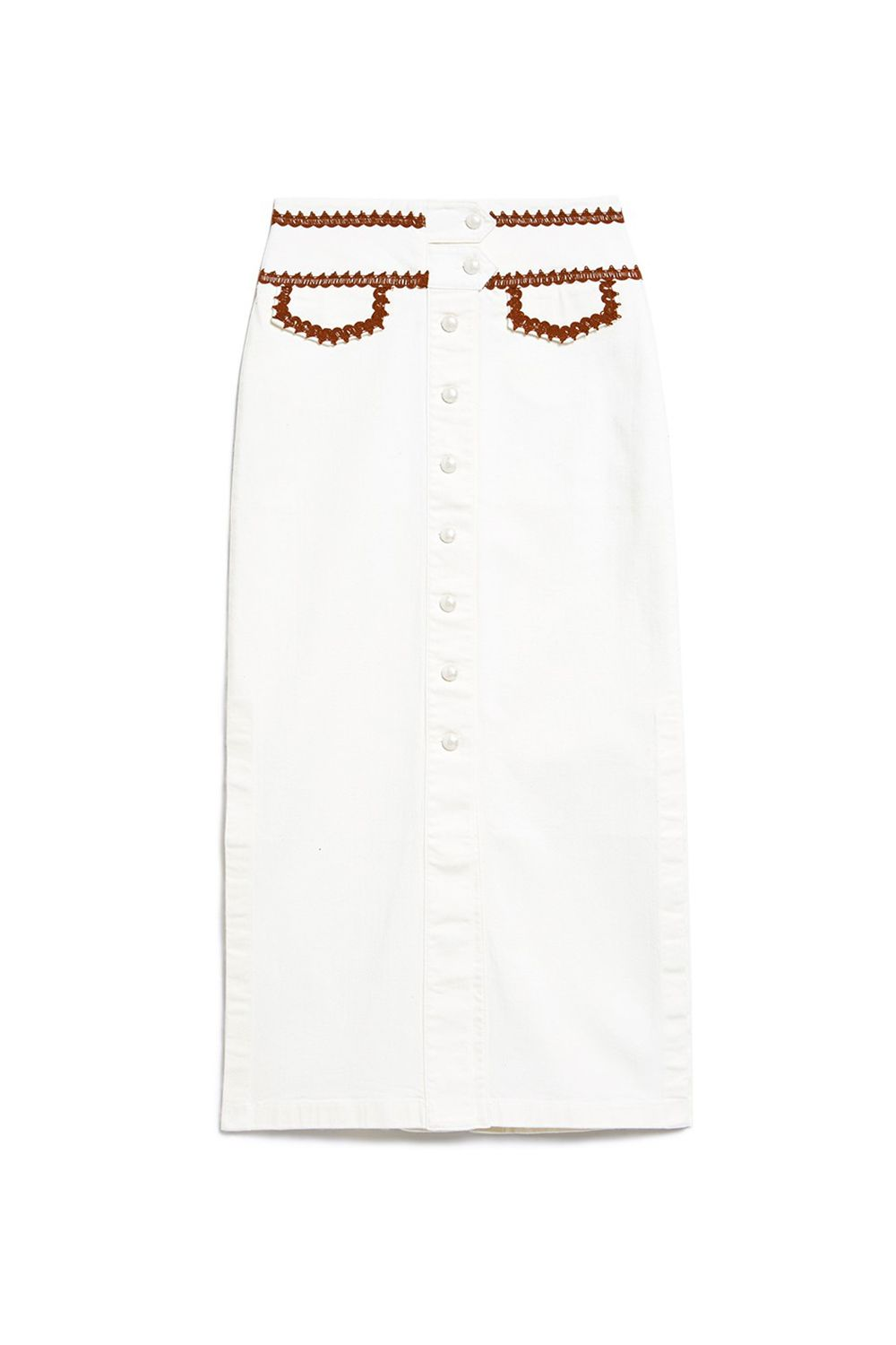 "<p>Part cowgirl, part Upper East Side doyenne, all Scandi street-style star. </p><p>Ganni, $240, <a href=""http://needsupply.com/womens/clothing/skirts/idaho-skirt.html"" target=""_blank"" data-tracking-id=""recirc-text-link"">needsupply.com</a>.</p>"