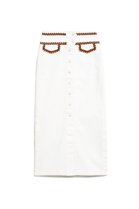 "<p>Part cowgirl, part Upper East Side doyenne, all Scandi street-style star.&nbsp;</p><p>Ganni, $240, <a href=""http://needsupply.com/womens/clothing/skirts/idaho-skirt.html"" target=""_blank"" data-tracking-id=""recirc-text-link"">needsupply.com</a>.</p>"