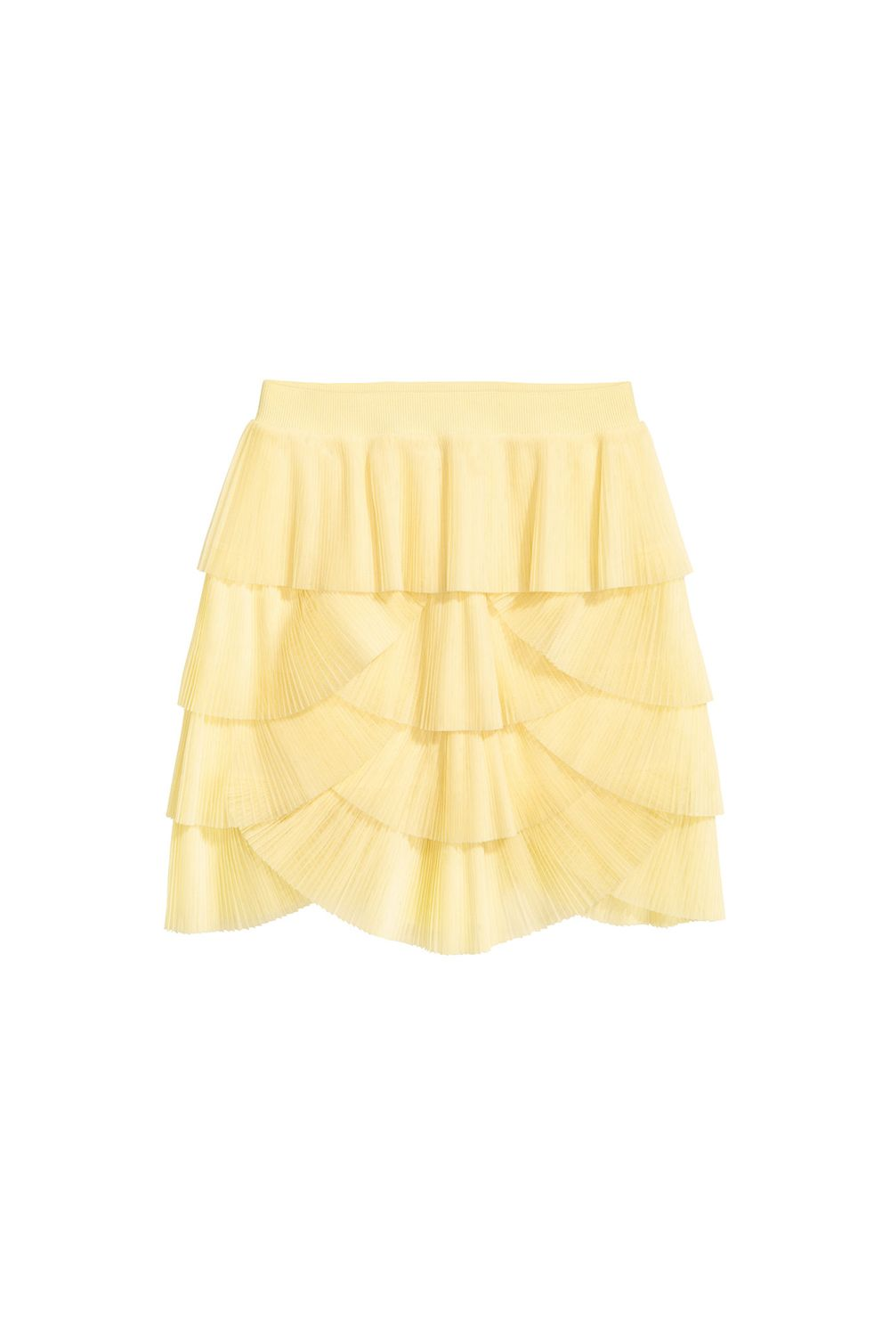 "<p>Lemon yellow and frilly scallops—what more do you need? (Besides a razor that hasn't been used 2,934 times.)</p><p>H&M, $60, <a href=""http://www.hm.com/us/product/70152?article=70152-A"" target=""_blank"" data-tracking-id=""recirc-text-link"">hm.com</a>.</p>"
