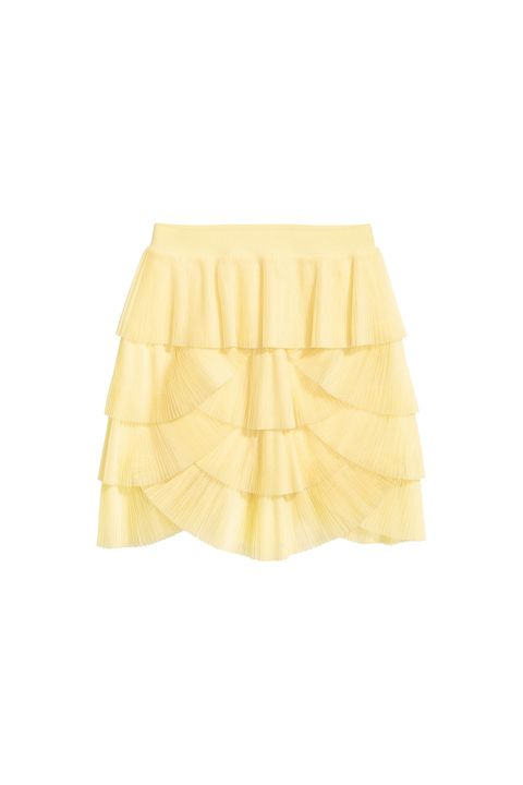 "<p>Lemon yellow and&nbsp;frilly scallops—what more do you need? (Besides a razor that hasn't been used 2,934 times.)</p><p>H&amp;M, $60, <a href=""http://www.hm.com/us/product/70152?article=70152-A"" target=""_blank"" data-tracking-id=""recirc-text-link"">hm.com</a>.</p>"