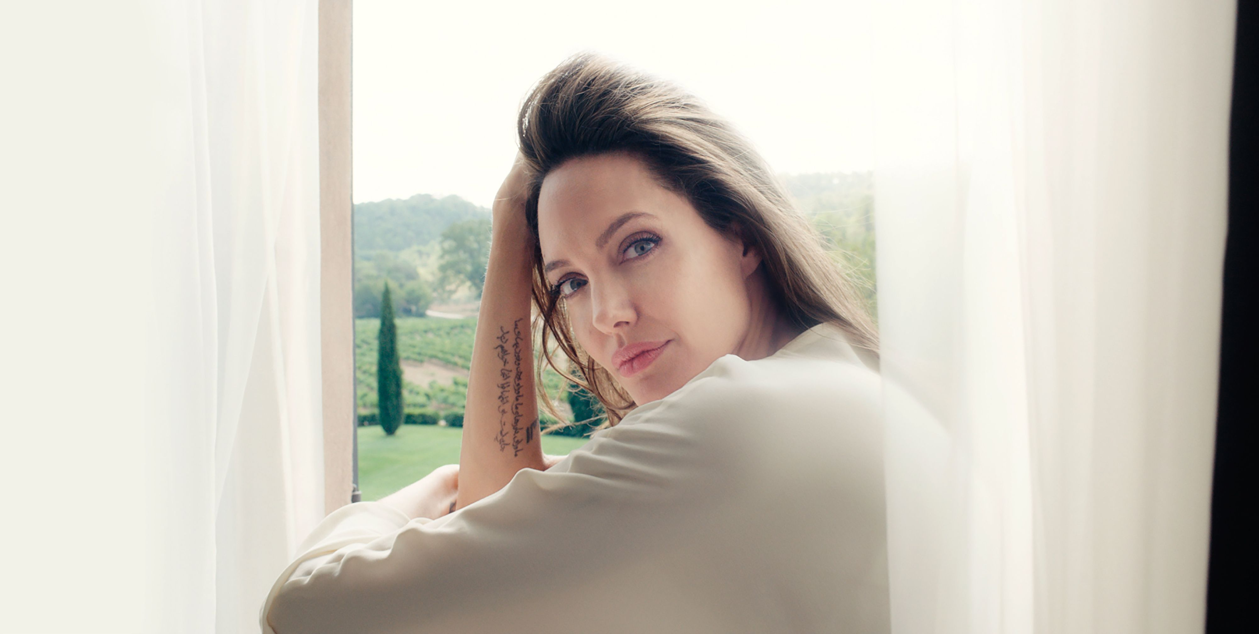 Angelina Jolie Talks About Her New Guerlain Campaign