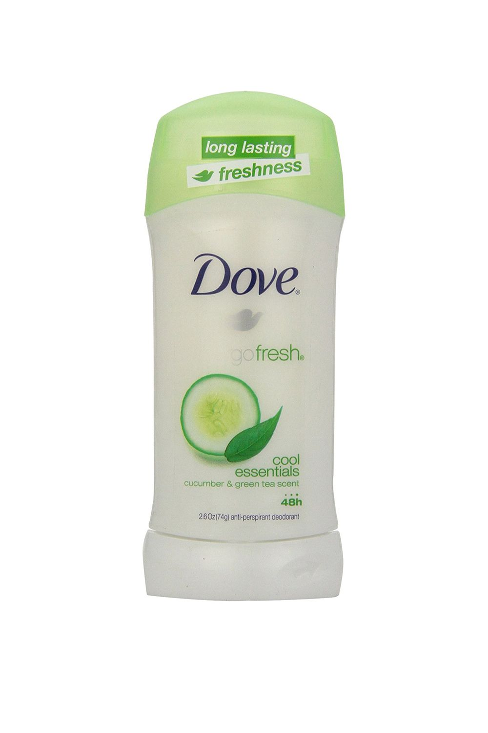 "<p>A fan favorite for the ""Oooh, that's me"" scent (in a good way). And you've known about its staying power since seventh-grade phys ed. </p><p>$25 for four, <a href=""https://www.amazon.com/Dove-Ultimate-Essentials-Anti-perspirant-Deodorant/dp/B001ECQ5FC"" target=""_blank"" data-tracking-id=""recirc-text-link"">amazon.com</a>.</p>"