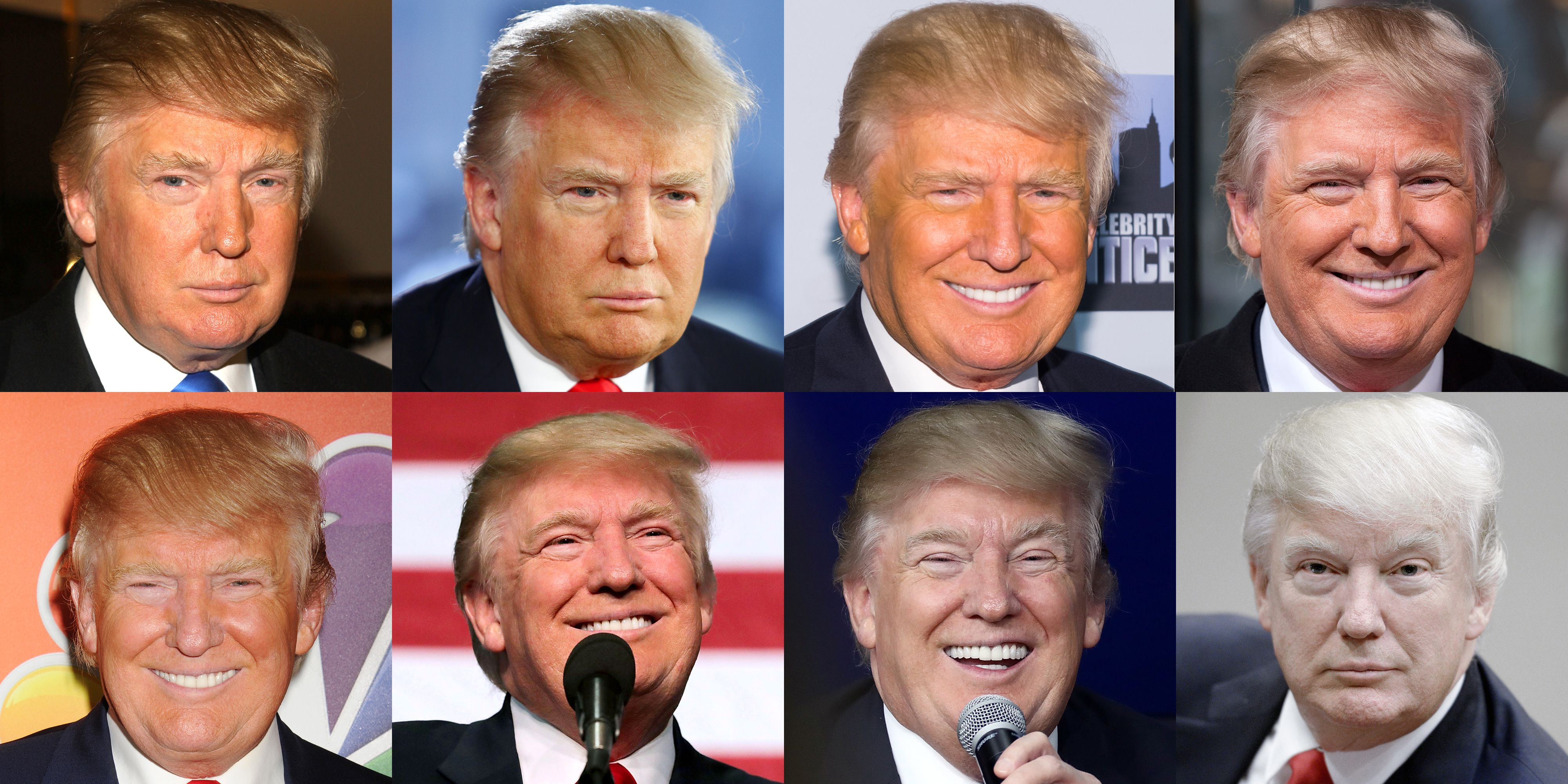 ab1b6384c5d8 Does Donald Trump Spray Tan  - Tracking Donald Trump s Fading Tan