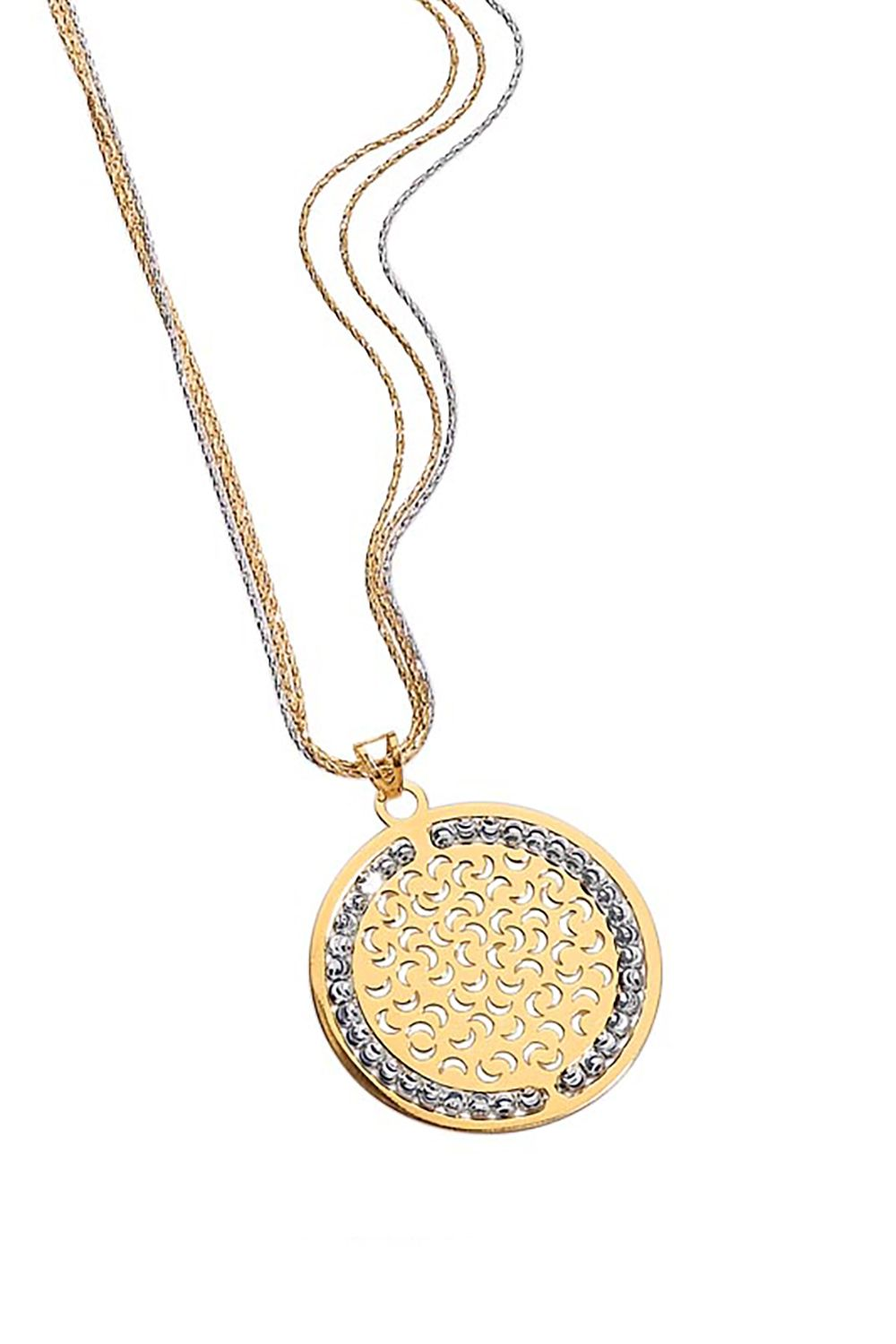 "<p>You can carry the Mediterranean sun with you 24/7 when you wear this Solé pendant. While the sun<span class=""redactor-invisible-space"" data-verified=""redactor"" data-redactor-tag=""span"" data-redactor-class=""redactor-invisible-space""> is a symbol of power, growth, abundance, and light, the small crescent moons engraved on the pendant bring good luck as well.</span></p><p>Officina Bernardi Solé Pendant, $225–$180, <a href=""https://www.officinabernardi.com/en/shop-en/argento-en/collezione-sole-en"" data-tracking-id=""recirc-text-link"">officinabernardi.com</a>.<strong data-redactor-tag=""strong"" data-verified=""redactor""><span class=""redactor-invisible-space"" data-verified=""redactor"" data-redactor-tag=""span"" data-redactor-class=""redactor-invisible-space""></span></strong></p>"