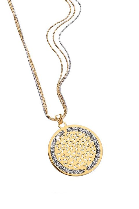 "<p>You can carry the Mediterranean sun with you 24/7 when you wear this Solé pendant. While the sun<span class=""redactor-invisible-space"" data-verified=""redactor"" data-redactor-tag=""span"" data-redactor-class=""redactor-invisible-space"">&nbsp;is a symbol of power, growth, abundance, and light, the small crescent moons engraved on the pendant bring&nbsp;good luck as well.</span></p><p>Officina Bernardi Solé Pendant, $225–$180,&nbsp;<a href=""https://www.officinabernardi.com/en/shop-en/argento-en/collezione-sole-en"" data-tracking-id=""recirc-text-link"">officinabernardi.com</a>.<strong data-redactor-tag=""strong"" data-verified=""redactor""><span class=""redactor-invisible-space"" data-verified=""redactor"" data-redactor-tag=""span"" data-redactor-class=""redactor-invisible-space""></span></strong></p>"