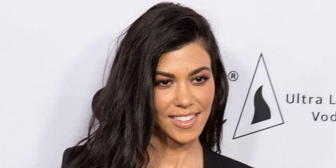 Kourtney Kardashian has a new look
