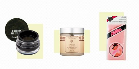 Product, Beauty, Pink, Eye, Material property, Eye shadow, Cream, Eye liner, Skin care,