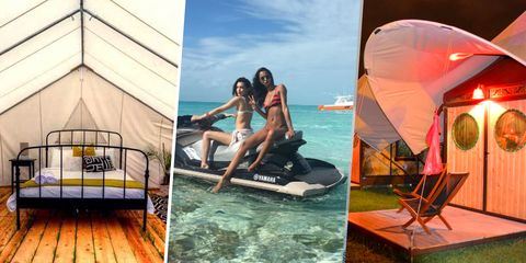 Watercraft, Comfort, Leisure, Summer, Tourism, Vacation, Tent, Holiday, Boat, Bed frame,