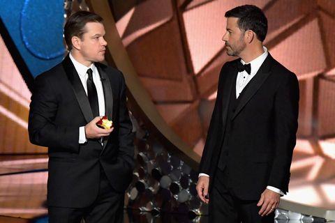 In Which Jimmy Kimmel Drags Matt Damon Off a United Flight in the Greatest Parody Yet