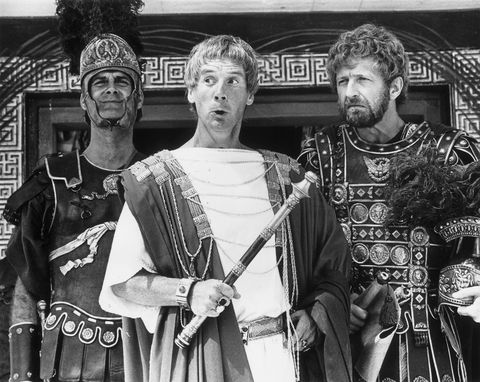 "<p>Despite being a group of male comedians, Monty Python has famously portrayed many interesting, compelling women—including in <em data-redactor-tag=""em"" data-verified=""redactor"">Life of Brian</em>. The film passes the Bechdel Test when Loretta (a transgender character played by Eric Idle) discusses her gender identity with Judith (played by Sue Jones-Davies). Up until this point in the film, the characters refer to Idle's character as 'Stan' and 'Brother,' but they refer to her as 'Loretta' and 'Sister' after this—without making a joke out of it. Pretty progressive for the '70s, no?<span class=""redactor-invisible-space"" data-verified=""redactor"" data-redactor-tag=""span"" data-redactor-class=""redactor-invisible-space""></span></p>"