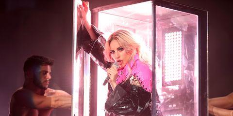 Lady Gaga at Coachella weekend two