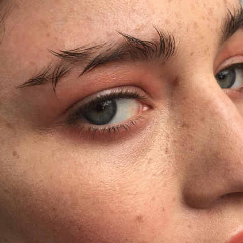 Face, Eyebrow, Nose, Skin, Forehead, Eyelash, Eye, Cheek, Close-up, Head,