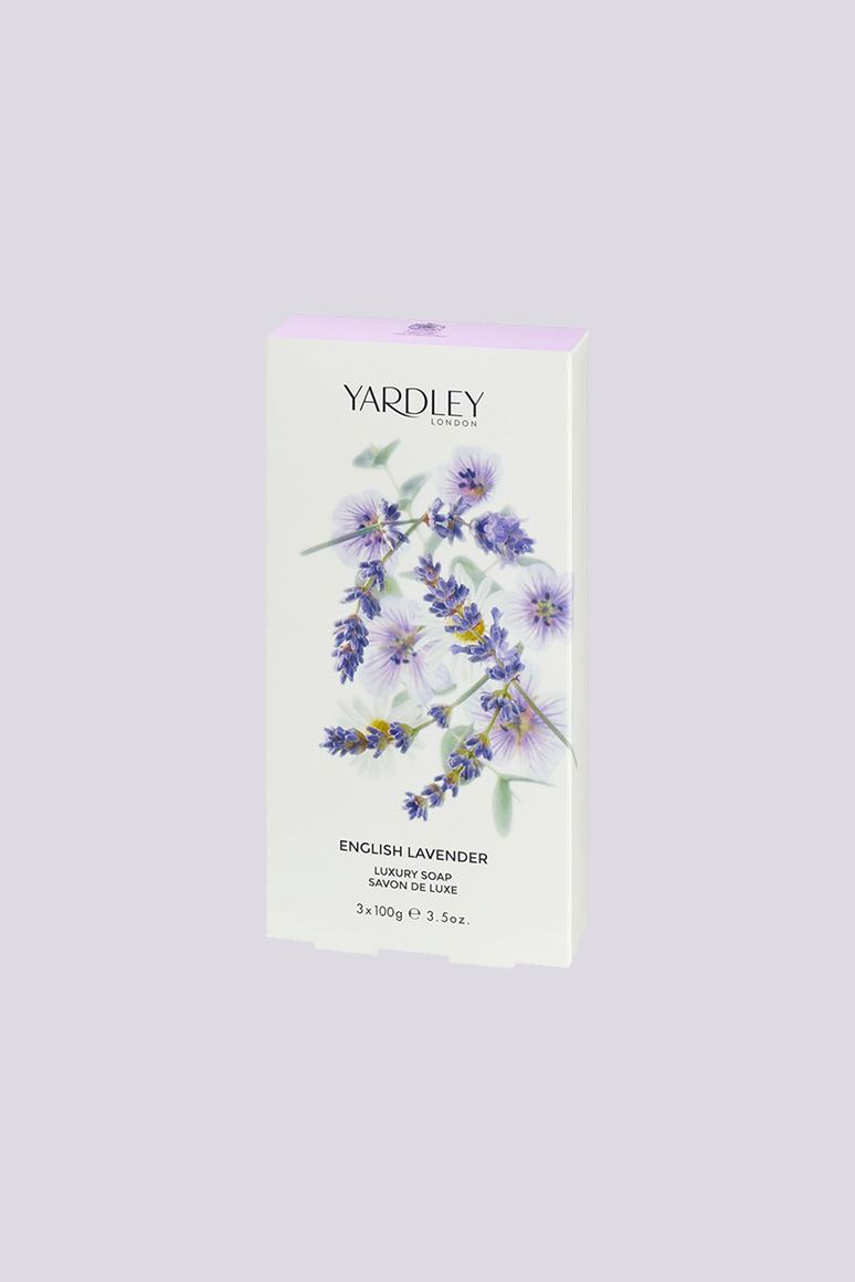 """<p>The royal household keeps location-specific Yardley soaps and hand washes at each royal locale. Their luxe soaps are even offered to private guests at Windsor Castle, which happens to be next door to the brand's office. No wonder they've got multiple royal warrants under their belt.</p><p>Moisturizing Bar in English Lavender, $3&#x3B; <a href=""""https://www.yardleylondon.co.uk/english-lavender-luxury-soaps.html"""" data-tracking-id=""""recirc-text-link"""">yardleylondon.co.uk</a>.</p>"""
