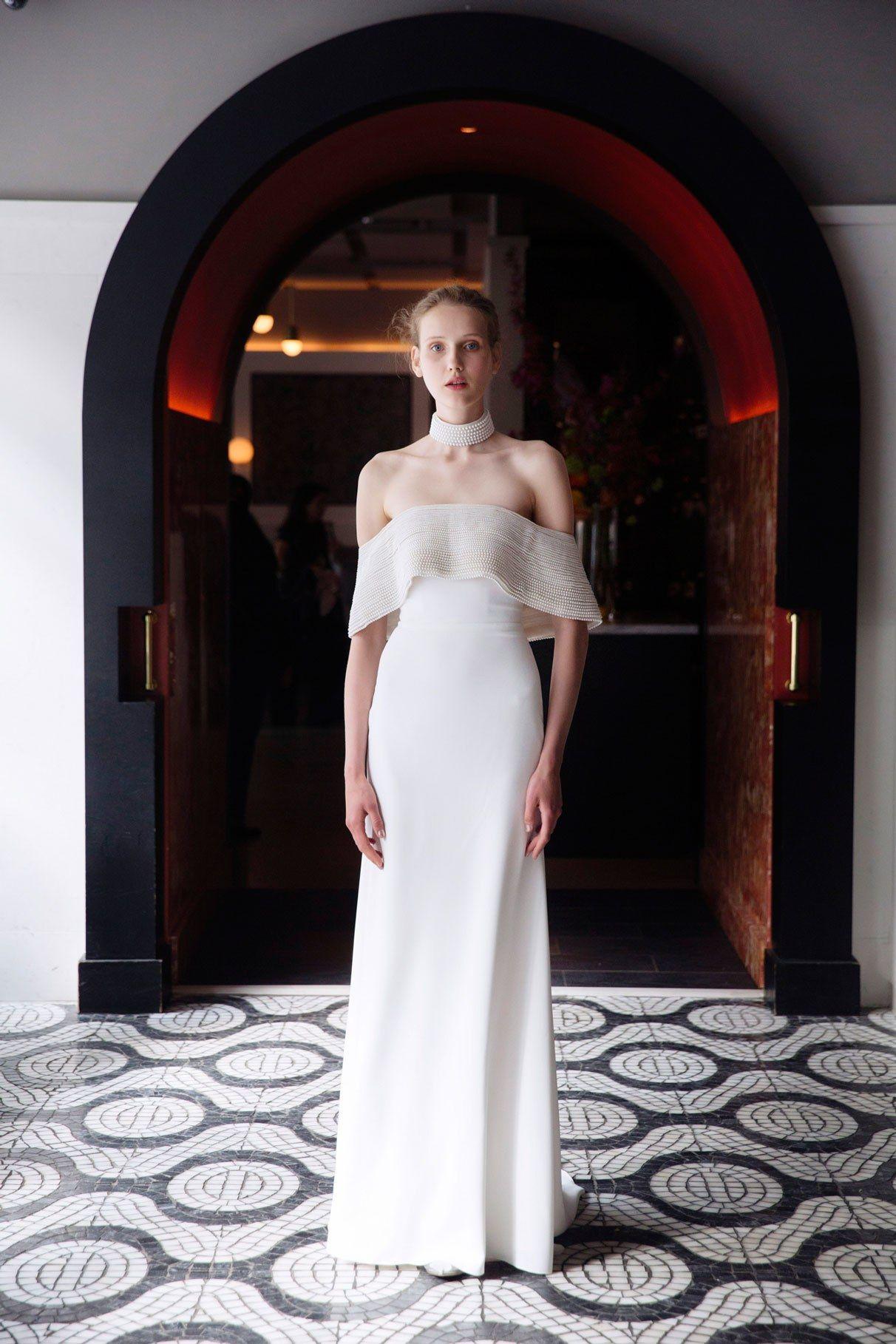 584a59dc211 Bridal Fashion Week Spring 2018 - Best Wedding Gowns from Bridal Fashion  Week