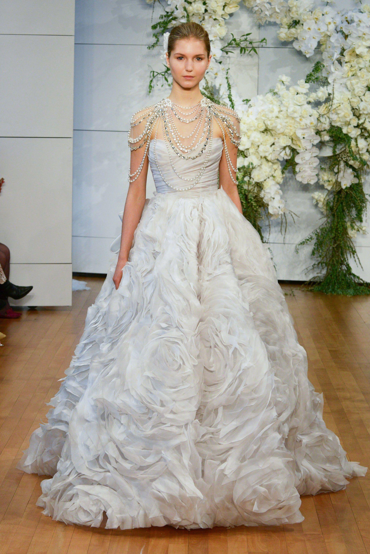 78c8f765ff363 Bridal Fashion Week Spring 2018 - Best Wedding Gowns from Bridal Fashion  Week