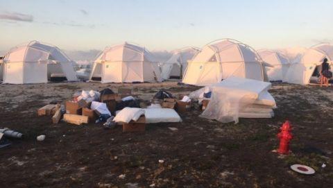 Dome, Dome, Tent, Landscape,