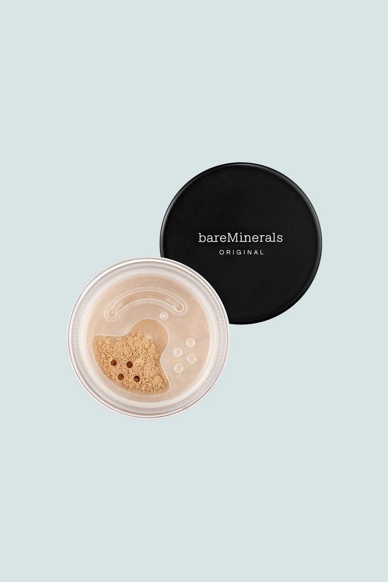"""<p>Loose mineral powder foundation will give you """"airbrushed"""" coverage with help from zinc oxide and titanium oxide, which act as natural physical sun blocks. The catch is that because it's a powder, it can be tricky to tell how much you need to apply for full protection. This is why we love it for SPF touch-ups throughout the day.</p><p>BareMinerals Foundation Broad Spectrum SPF 15, $28.50; <a href=""""http://bit.ly/2o09tZ0"""" target=""""_blank"""" data-tracking-id=""""recirc-text-link"""">ulta.com</a>.<br></p><p><span class=""""redactor-invisible-space"""" data-verified=""""redactor"""" data-redactor-tag=""""span"""" data-redactor-class=""""redactor-invisible-space""""></span></p>"""
