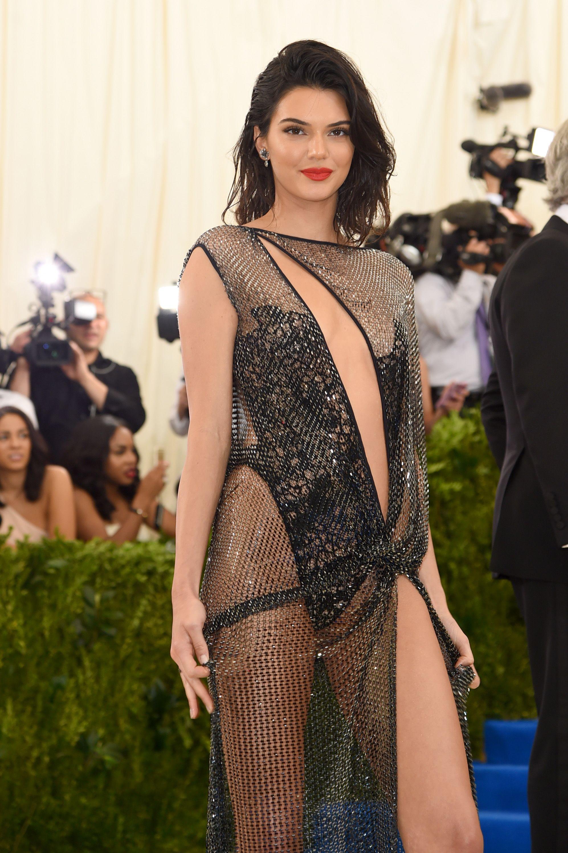Kendall Jenner Wears La Perla Dress at Met Gala 2017
