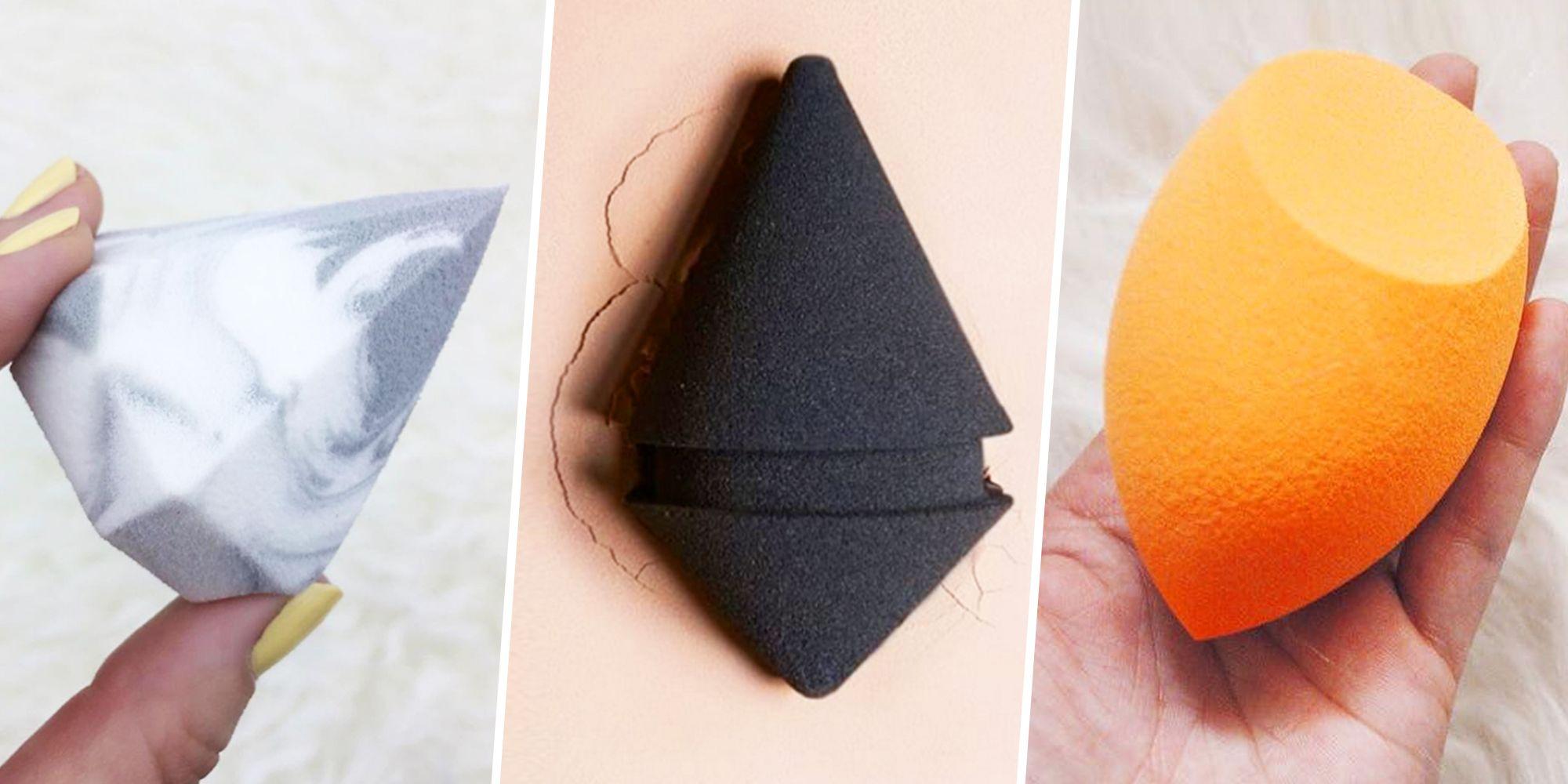 Makeup Sponge Guide Every Kind Of Egg Drop Beauty Blender Contouring