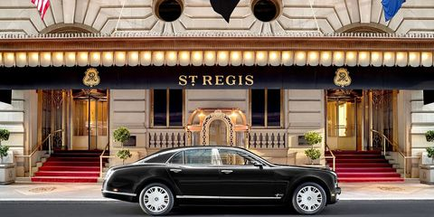 <p>Have you been dreaming of channeling Beverly Hills housewife Lisa Vanderpump with your very own Bentley? Well, it's a dream-come-true, thanks to the St. Regis New York. Whether you're heading downtown or  just want a little joy ride around the block, an exclusive Bentley on-demand service is at-the-ready for guests, 24/7.<br></p>