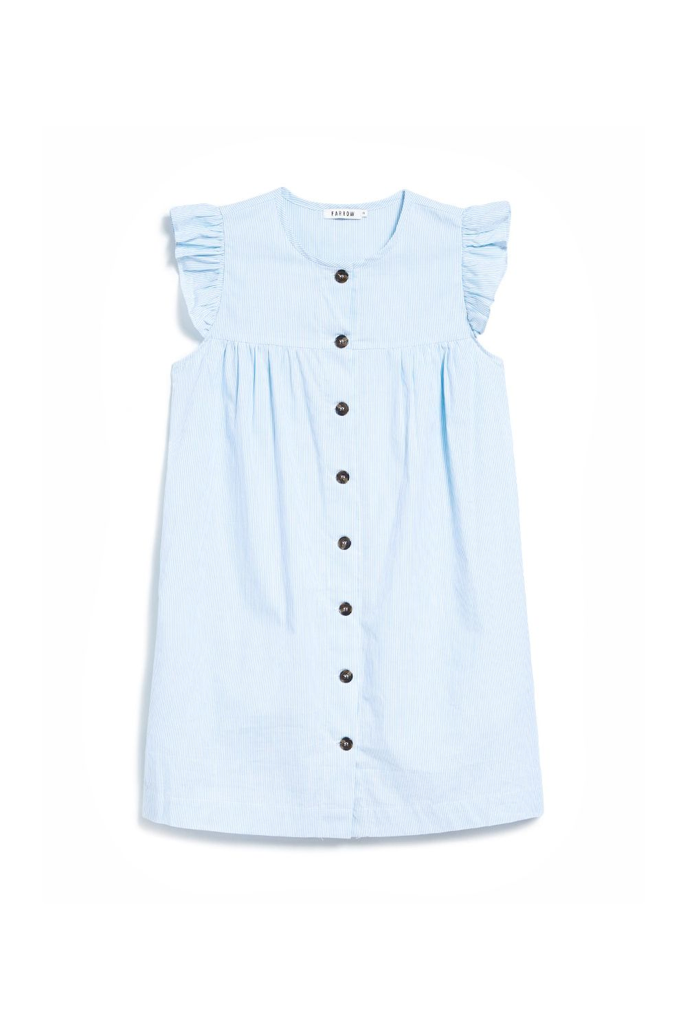 "<p>Looks like it belongs to a toddler, which is kind of the point. </p><p>Farrow, $68, <a href=""http://needsupply.com/womens/clothing/dresses/day/charles-dress-in-blue.html"" target=""_blank"" data-tracking-id=""recirc-text-link"">needsupply.com</a>.</p>"