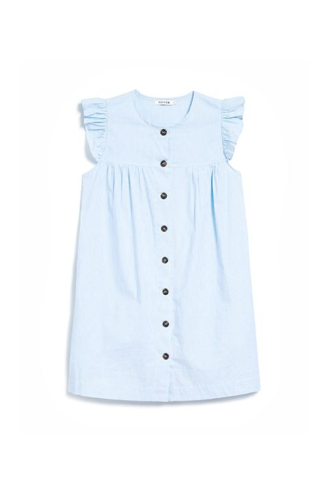 "<p>Looks like it belongs to a toddler, which is kind of the point.&nbsp;</p><p>Farrow, $68, <a href=""http://needsupply.com/womens/clothing/dresses/day/charles-dress-in-blue.html"" target=""_blank"" data-tracking-id=""recirc-text-link"">needsupply.com</a>.</p>"