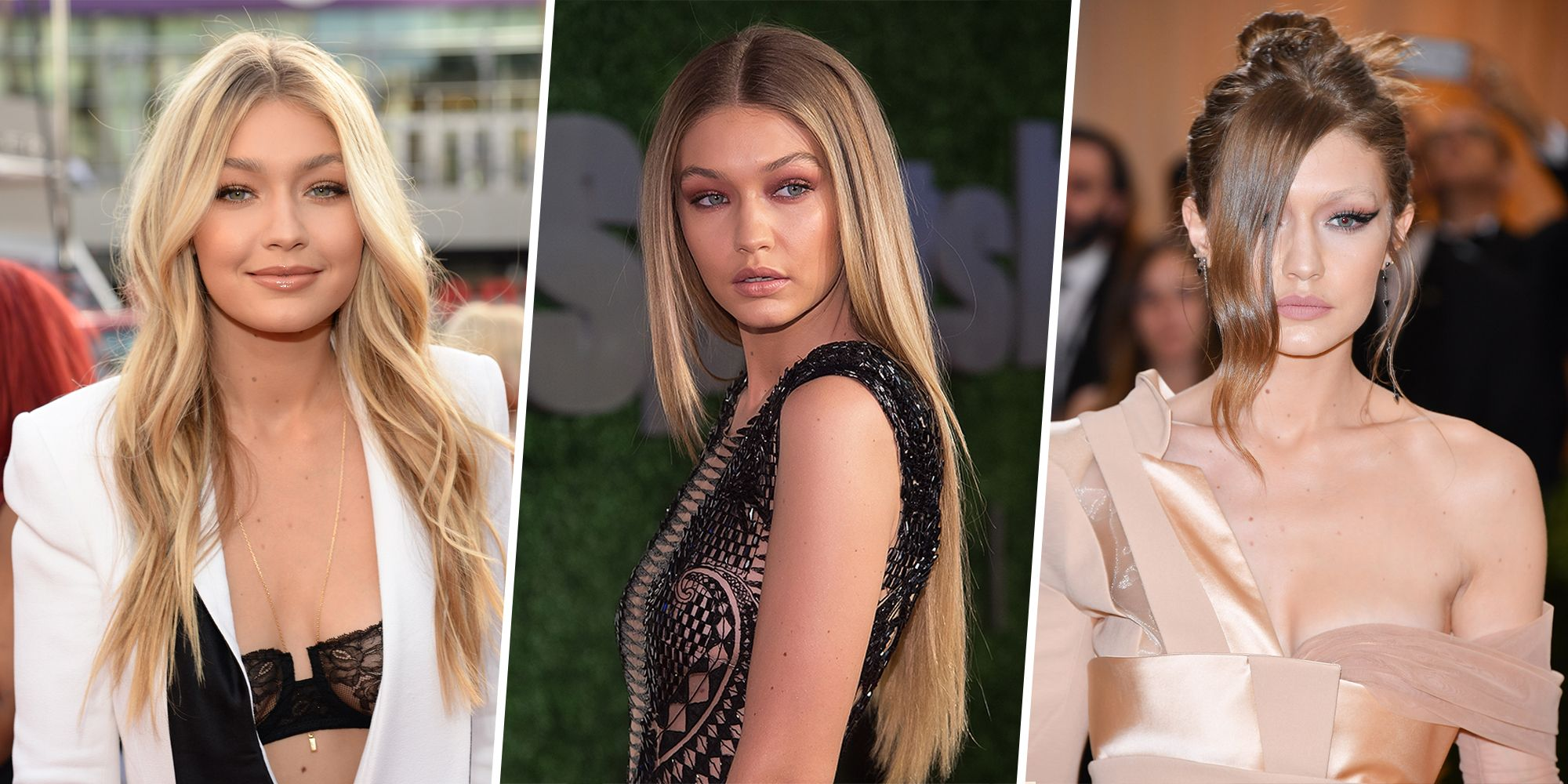 Gigi Hadid Hair Color Evolution Gigi Hadid Blonde Hair