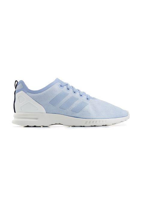 "<p>Blue is the fastest color. (Because Sonic.)&nbsp;</p><p>Adidas, $79, <a href=""https://www.stylebop.com/en-us/women/zx-flux-smooth-sneakers-236893.html"" target=""_blank"" data-tracking-id=""recirc-text-link"">stylebop.com</a>.</p>"