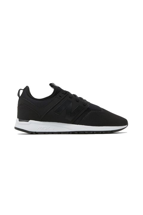"<p>If you were a celebrity, you would be wearing these as you&nbsp;got&nbsp;into your Ranger Rover.</p><p>New Balance, $80, <a href=""http://needsupply.com/womens/shoes/sneakers/lace-up/247-in-black-white.html"" target=""_blank"" data-tracking-id=""recirc-text-link"">needsupply.com</a>.</p>"