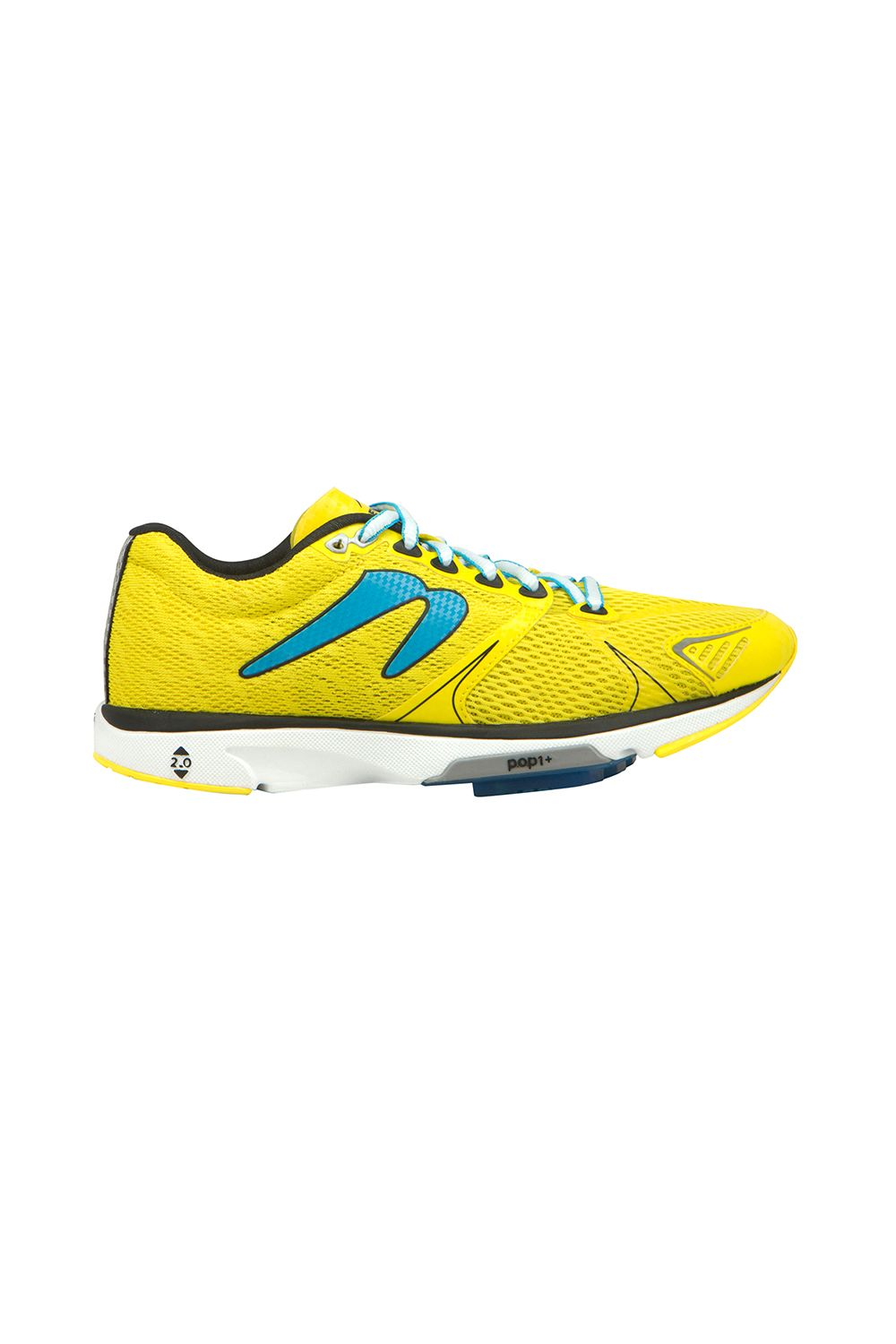 "<p>Aggressively yellow, like a push notification for you to get off the couch so you don't die young. </p><p>Newton, $100, <a href=""http://www.newtonrunning.com/womens-distance-v-b"" target=""_blank"" data-tracking-id=""recirc-text-link"">newtonrunning.com</a>.</p>"