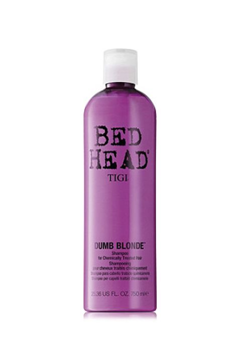 "<p>Vibrancy and softness in one. What else even is there?&nbsp;</p><p>TIGI Bed Head Dumb Blonde Shampoo, $29, <a href=""http://www.ulta.com/bed-head-dumb-blonde-shampoo?productId=xlsImpprod5870152"" target=""_blank"" data-tracking-id=""recirc-text-link"">ulta.com</a>.</p>"