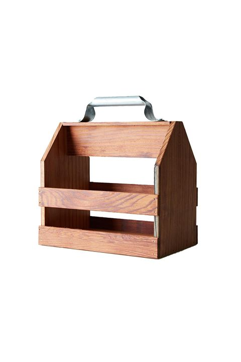 "<p>A classy six-pack crate&nbsp;for tailgates and camping trips that's sturdier than those cardboard boxes.&nbsp;</p><p><strong data-redactor-tag=""strong"" data-verified=""redactor"">Wood Six Pack Holder, $44; <a href=""https://food52.com/shop/products/1003-wood-six-pack-holder"" target=""_blank"" data-tracking-id=""recirc-text-link"">food52.com</a>.</strong></p>"