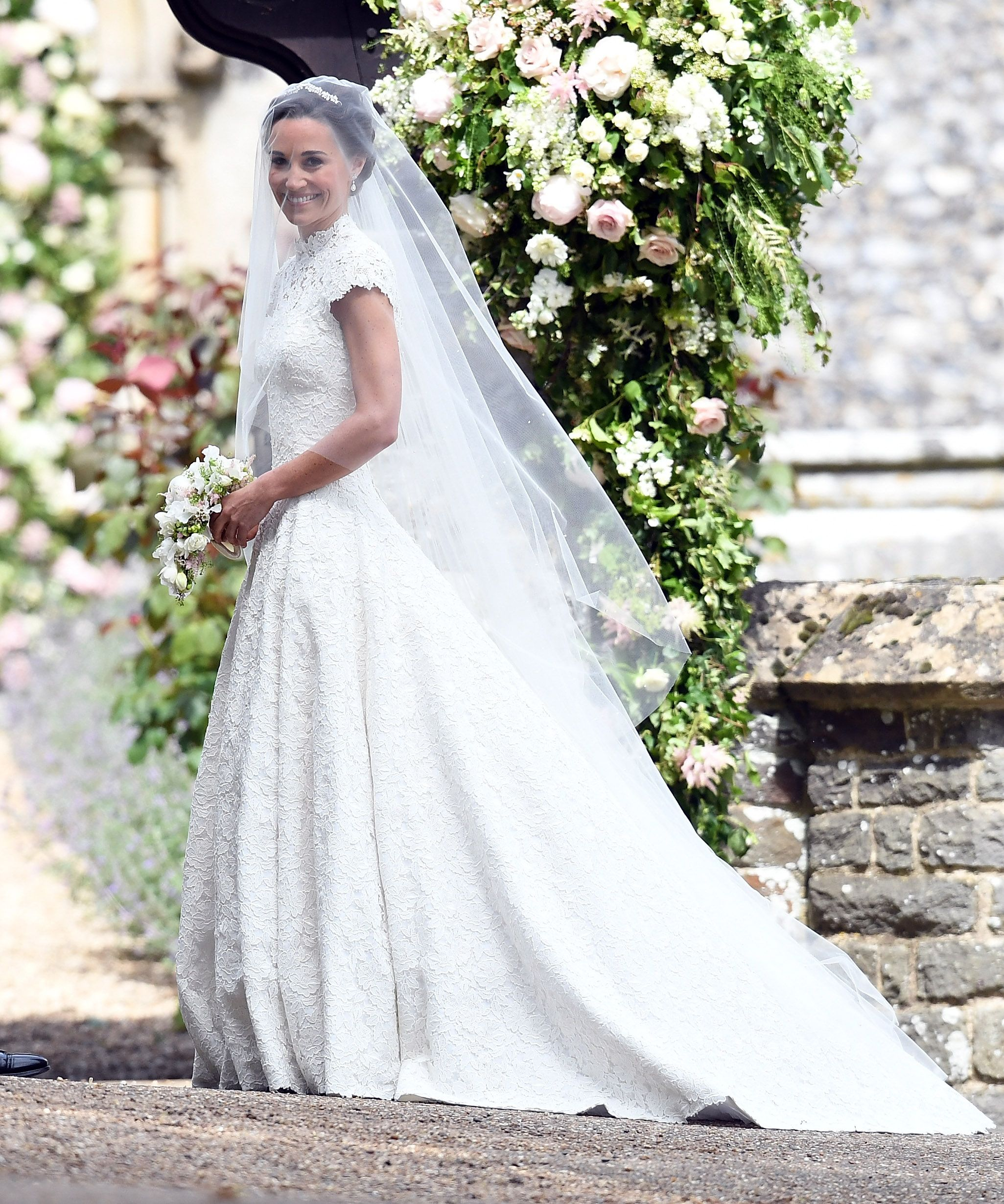 See Pippa Middleton\'s Gorgeous Wedding Hair from the Royal Wedding